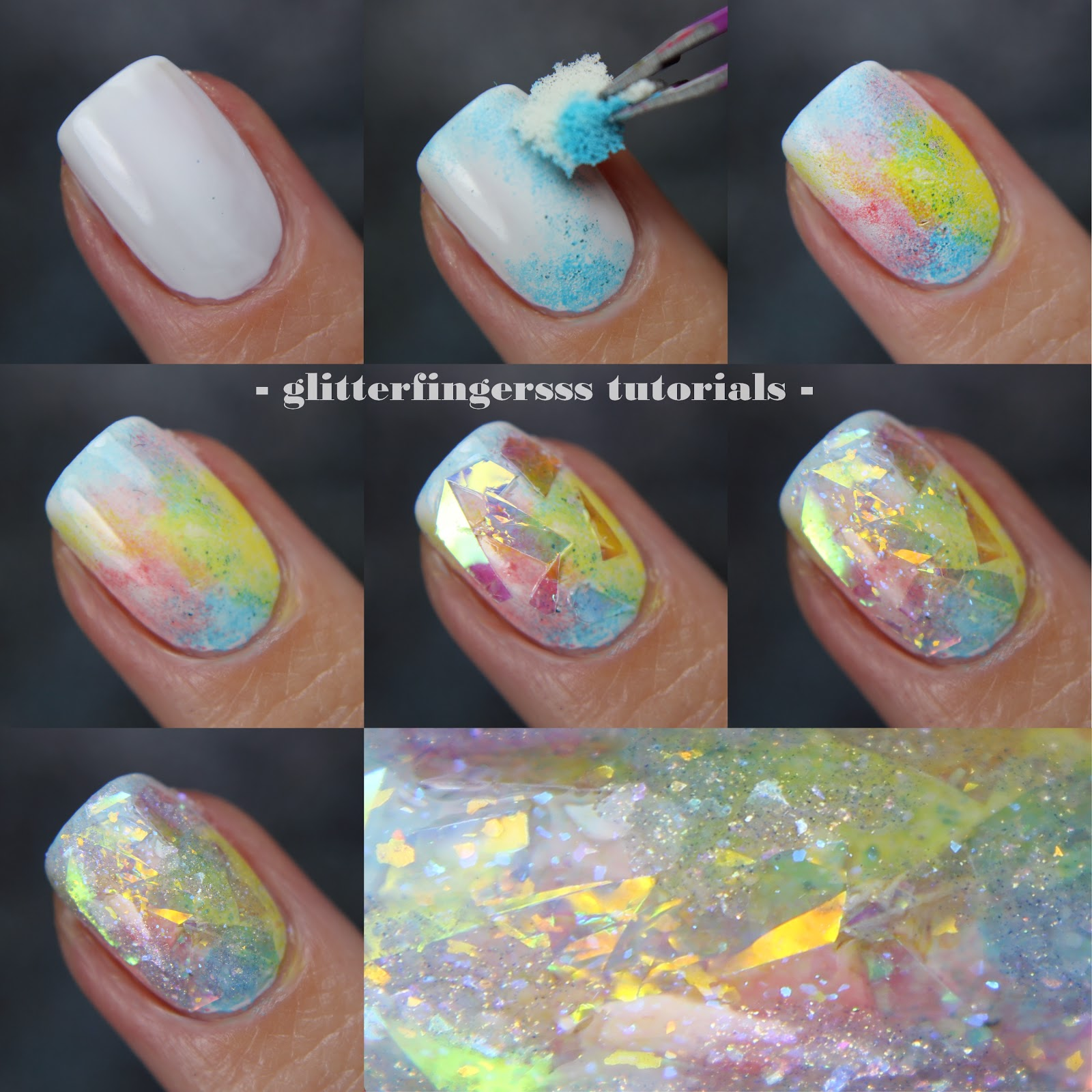 10 fun nail art ideas if you have short nails simplemost opal nails tutorial prinsesfo Image collections