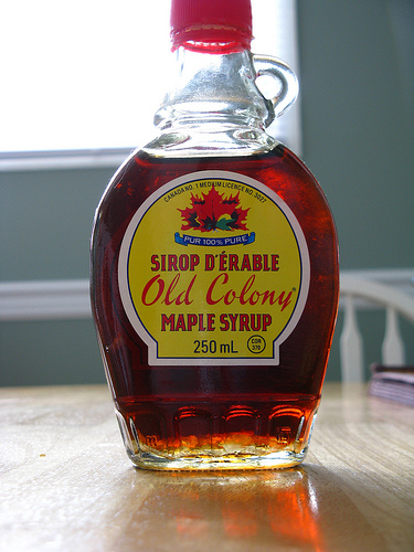 maple syrup photo