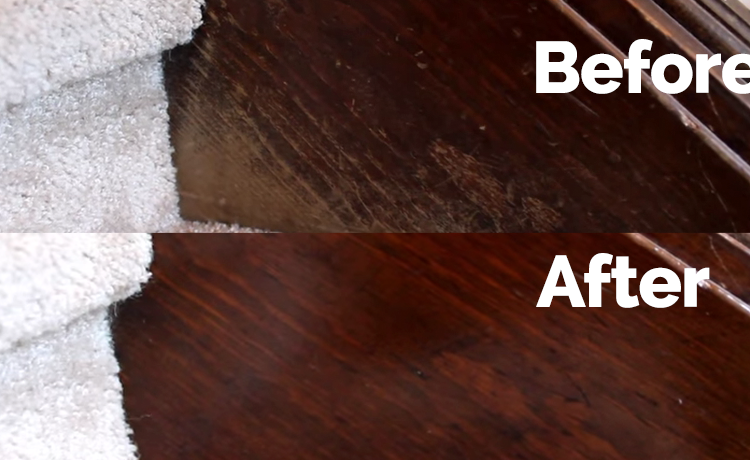 remove furniture scratches with olive oil and vinegar