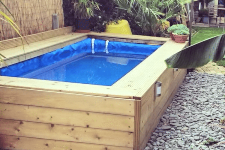How to make a hay bale swimming pool simplemost for Design my own pool