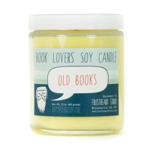 Book-Scented Candles