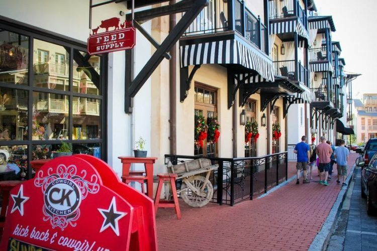 South Walton, Florida Shopping and Strolling