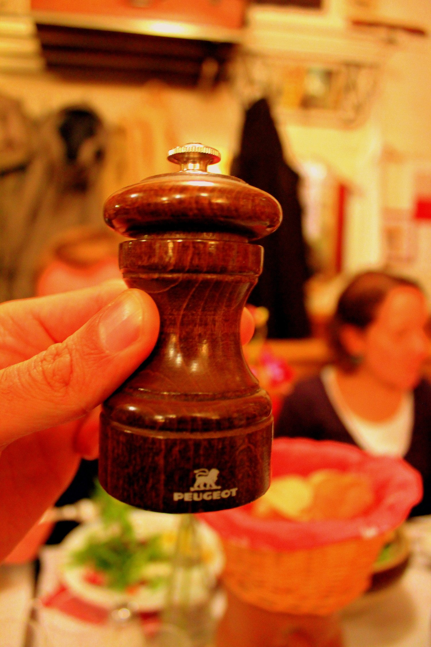 peugeot pepper mill photo