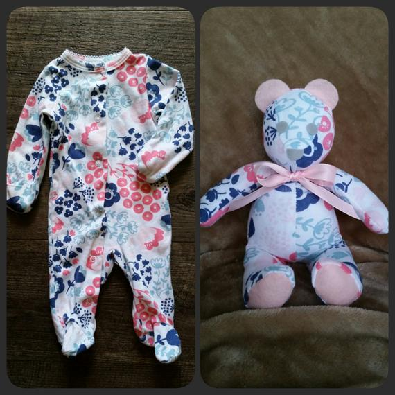 Turn Baby S Clothes Into Keepsake Memory Bears Simplemost