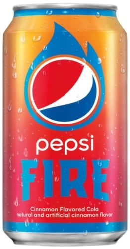 "Pepsi launches limited-edition cinnamon flavored cola, Pepsi Fire, with their summer ""Get It While It's Hot"" campaign. (PRNewsfoto/PepsiCo)"