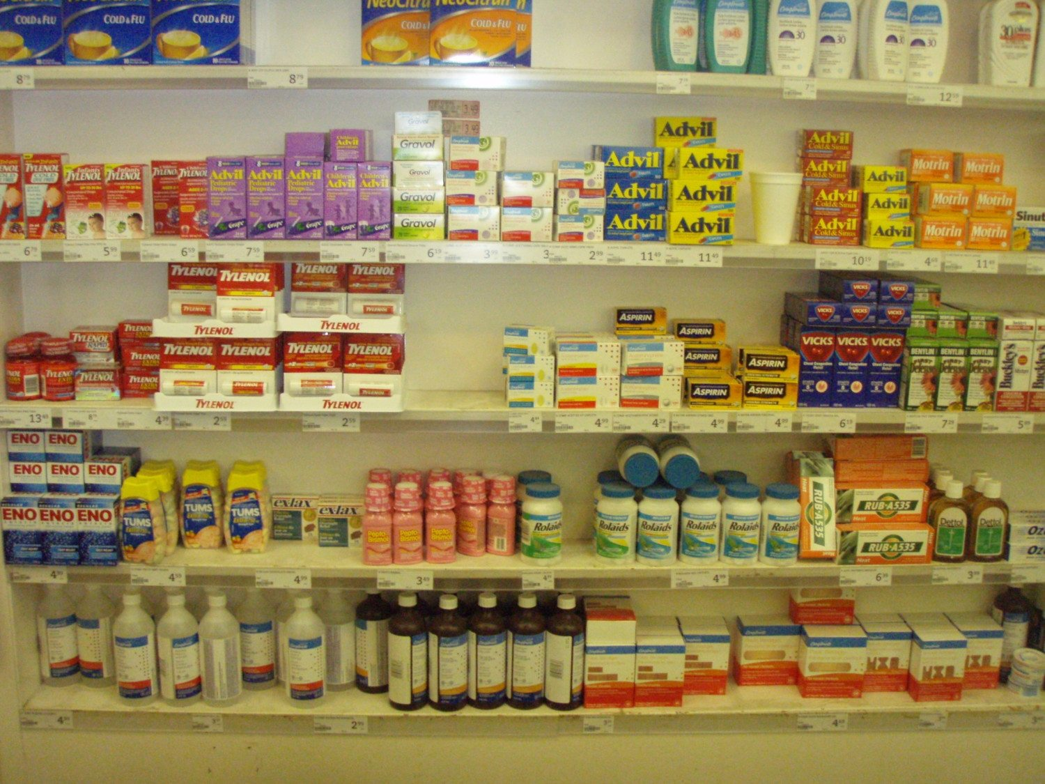 over the counter drugs photo