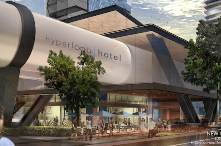 'Hyperloop Hotel' Could Be the Future of Luxury Travel