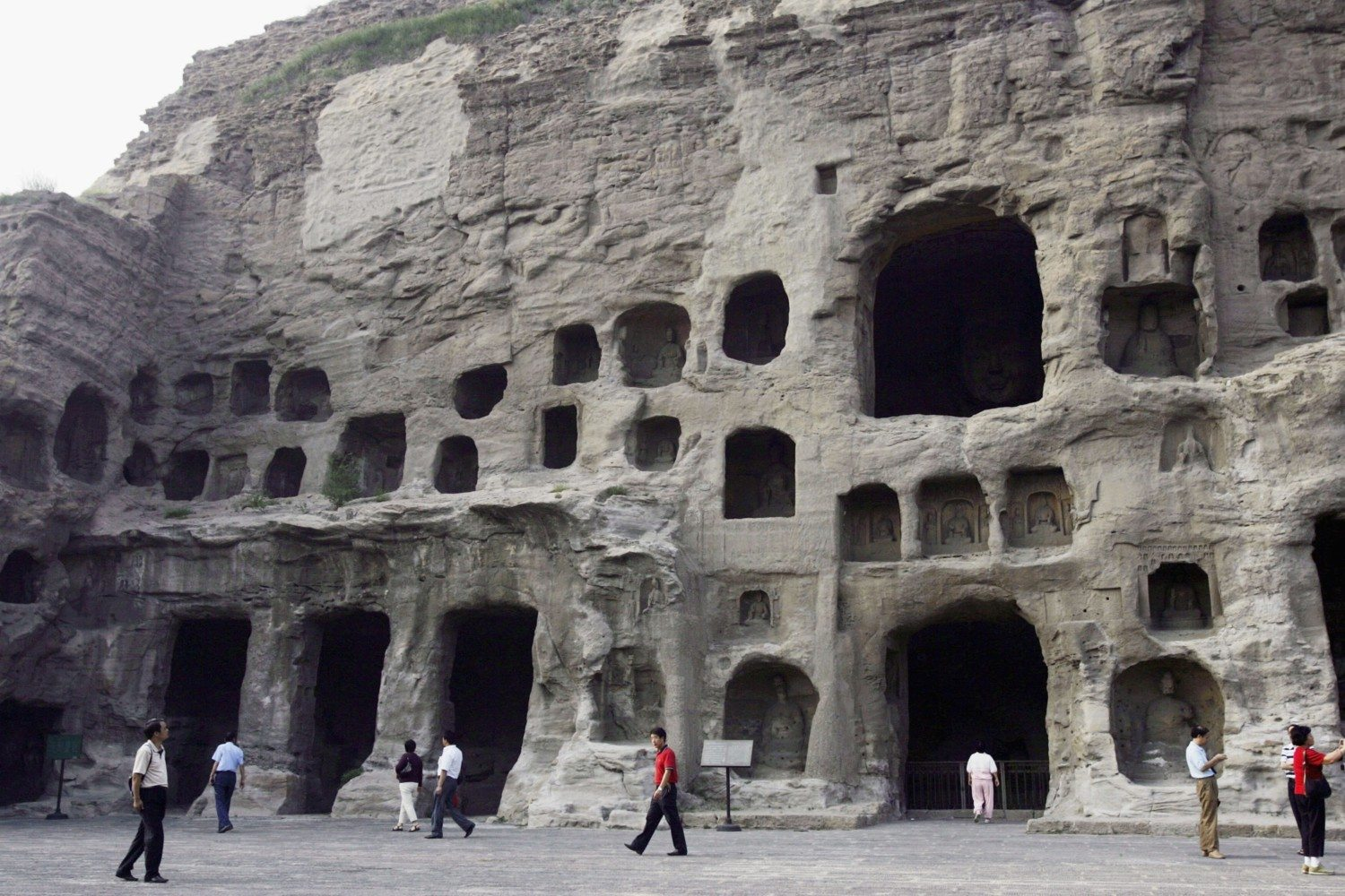 datong grottoes photo