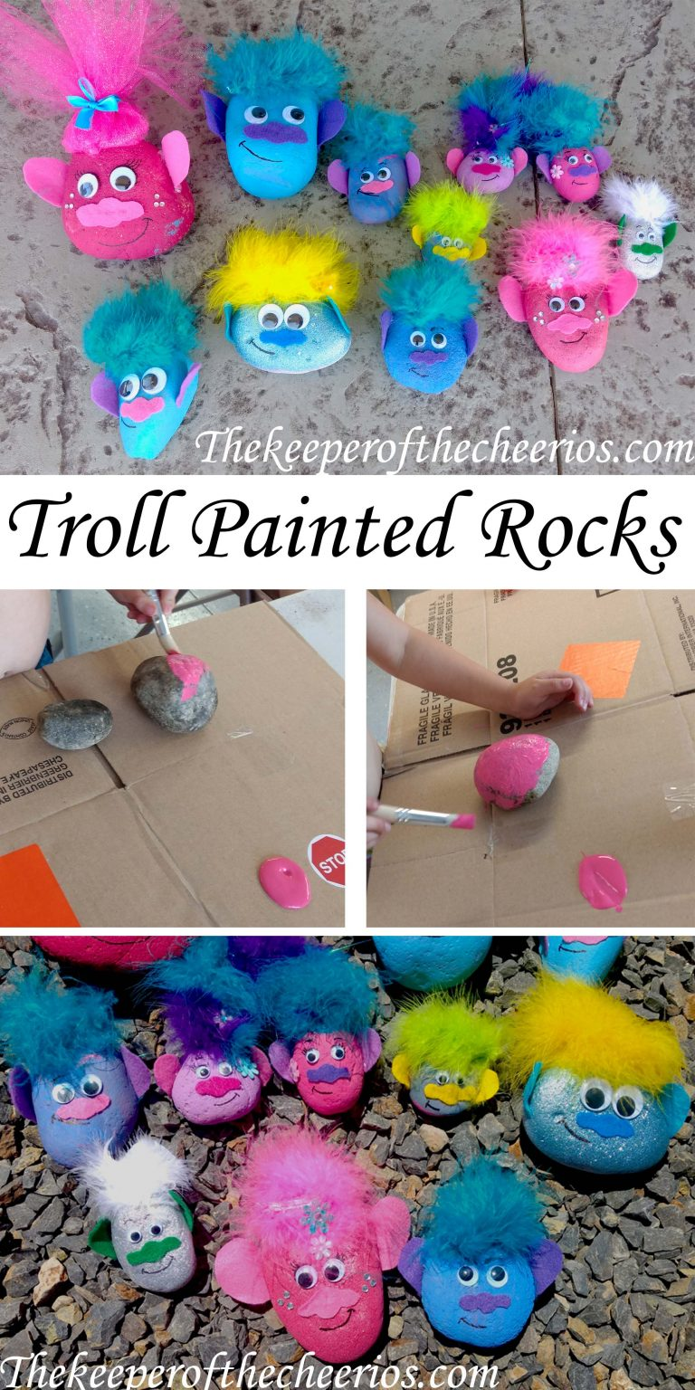 18 rock art projects for your kids simplemost for Best paint for outdoor crafts