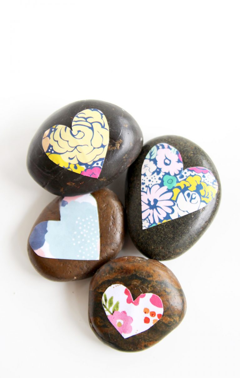 18 rock art projects for your kids simplemost for Crafts made from rocks