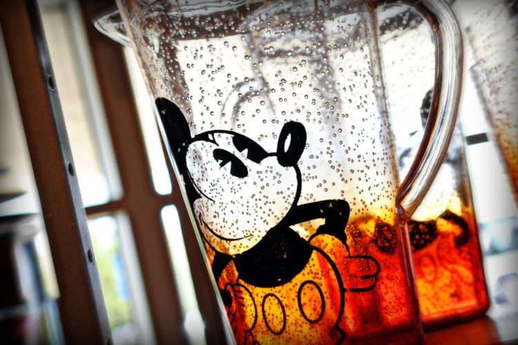 #82 Mickey Drinking Glasses