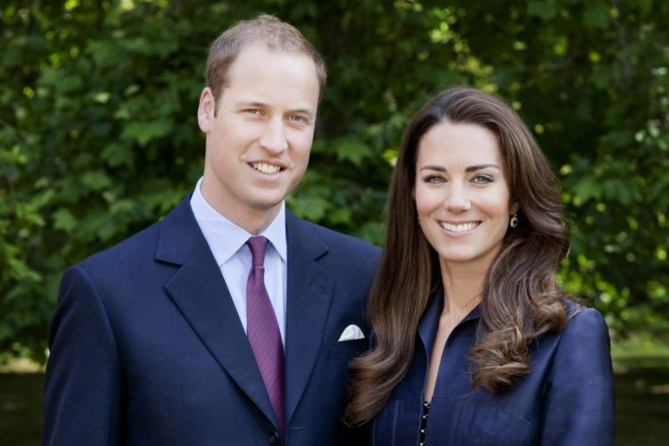 The Duke And Duchess of Cambridge - Official Tour Portrait