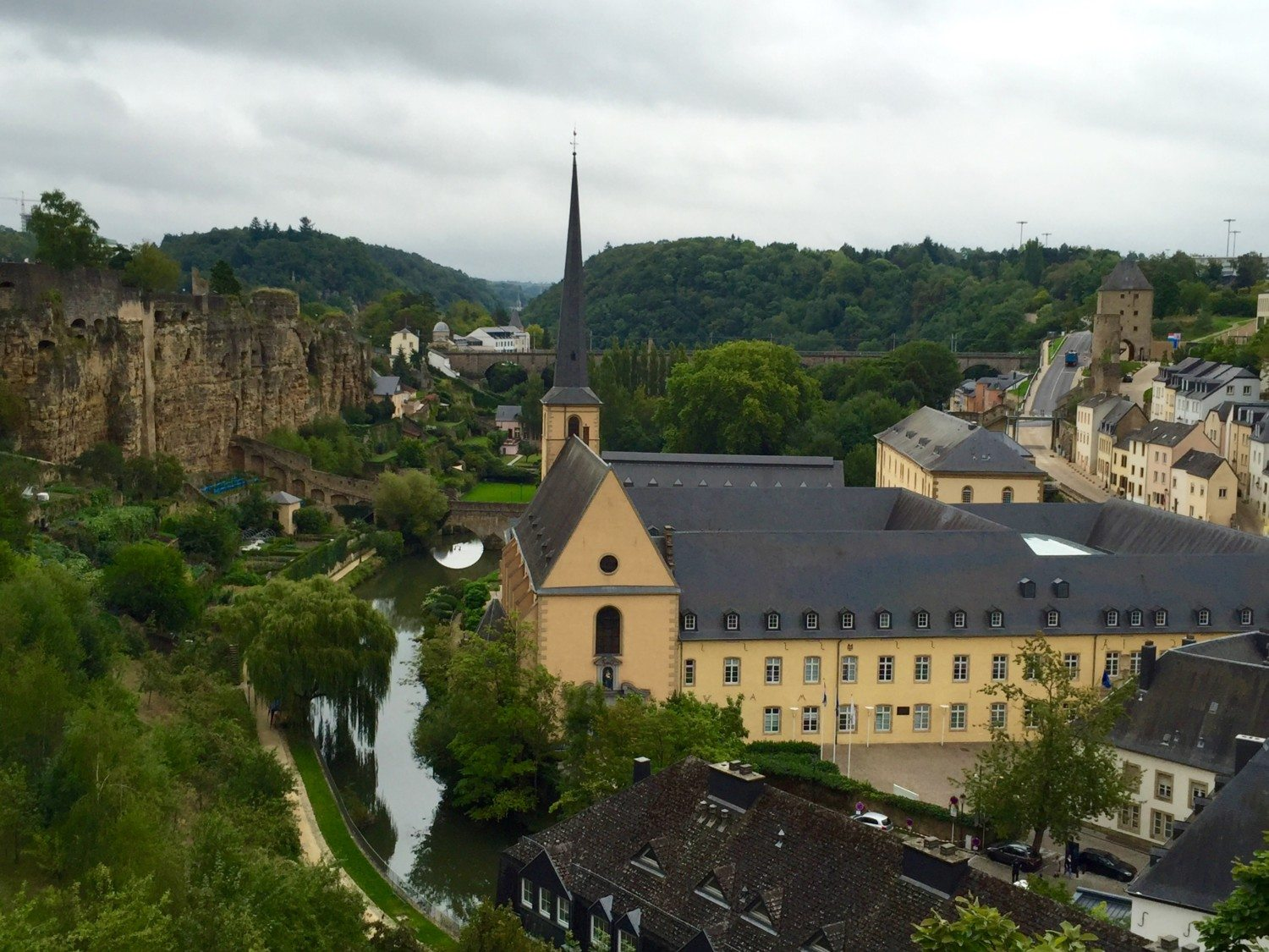 luxembourg city photo