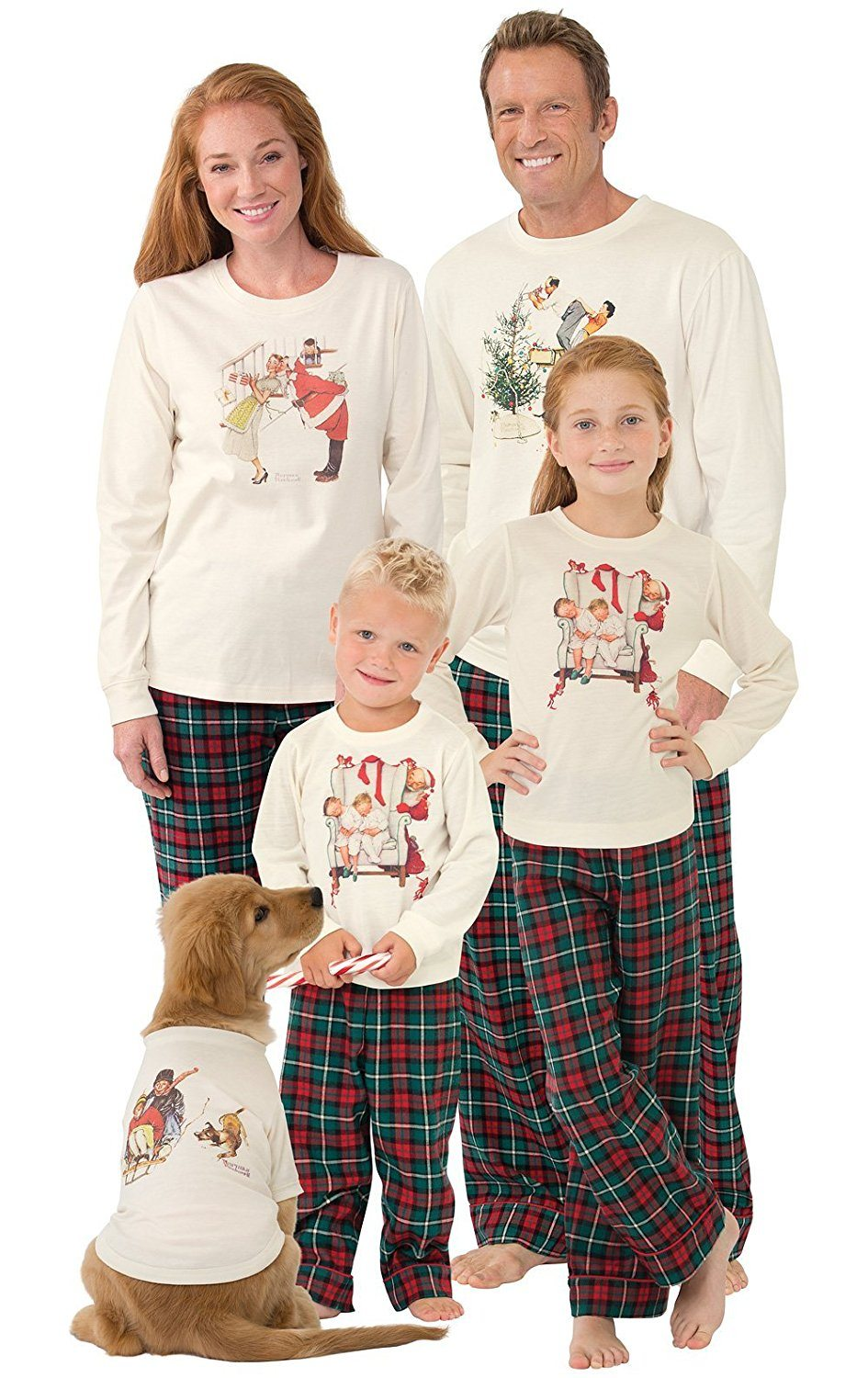 Matching Family Pajamas For The Holidays - Simplemost