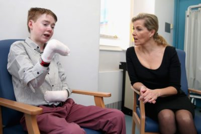 The Countess Of Wessex Visits DEBRA Clinic