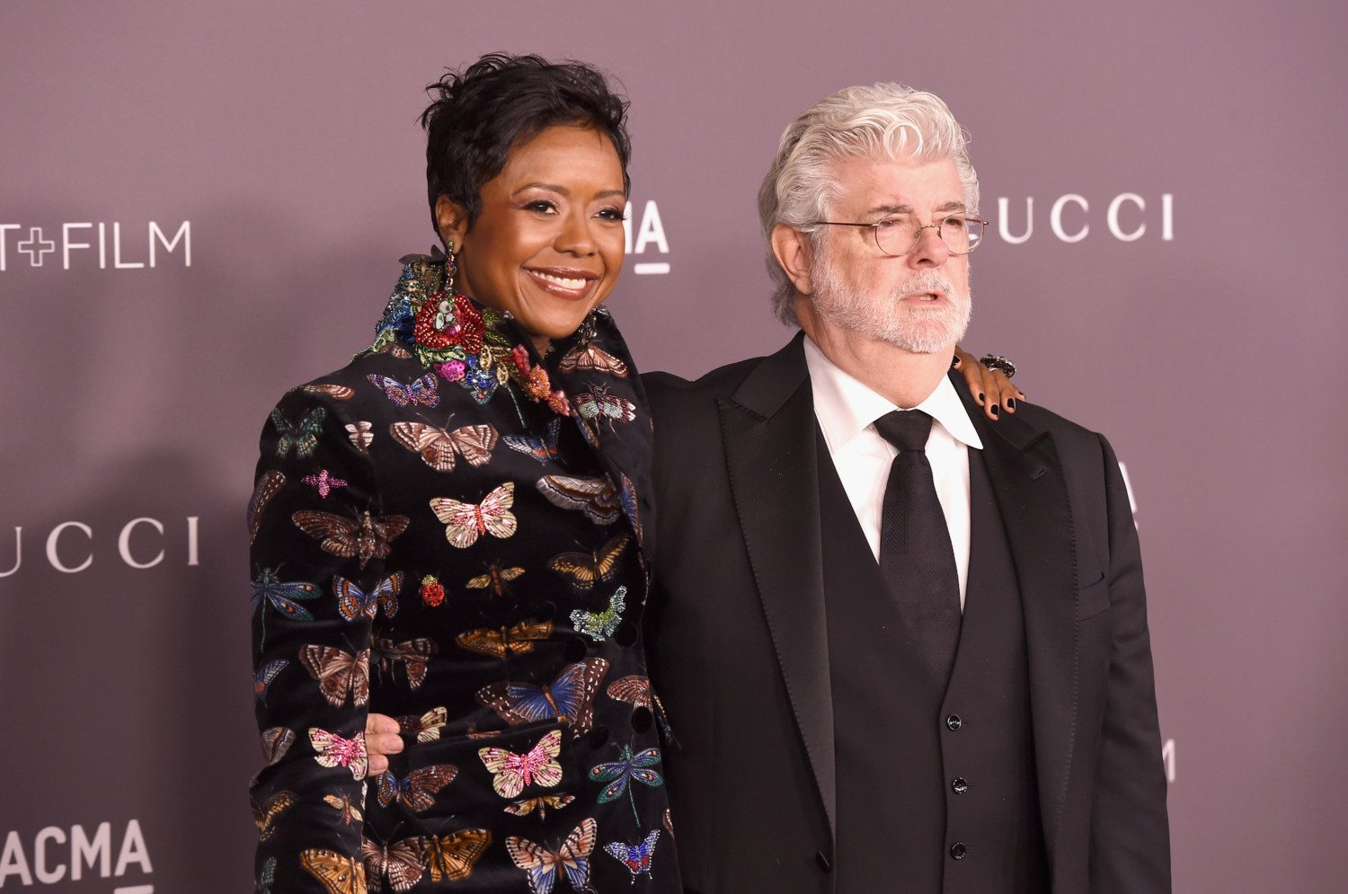 george lucas mellody hobson photo