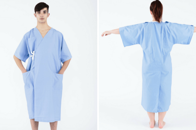 New Hospital Gown Design Could Be On Its Way - Simplemost