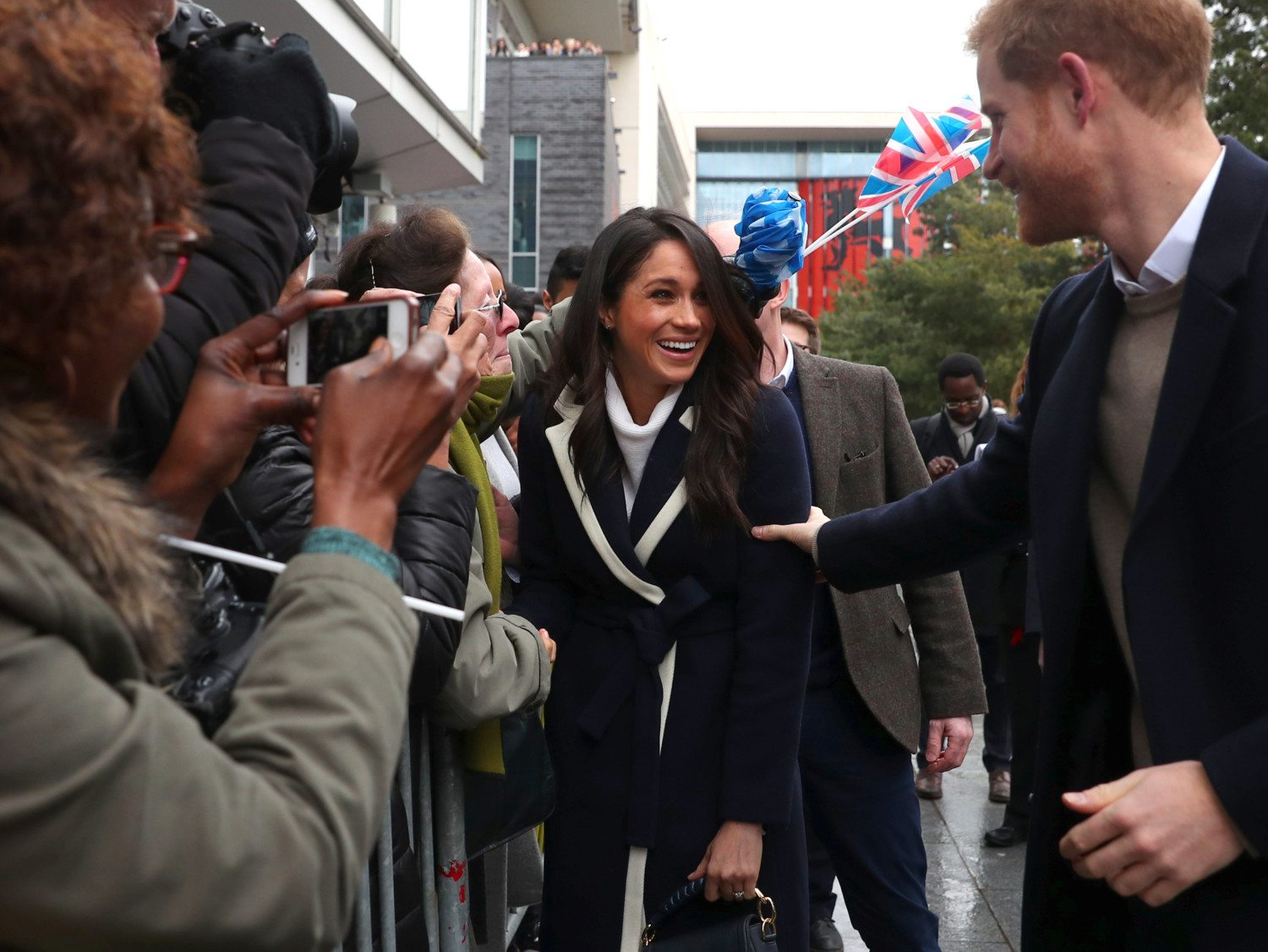 Meghan Markle Birmingham photo