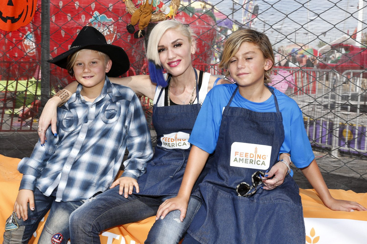 gwen stefani sons photo