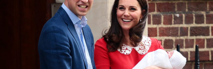The Duke & Duchess Of Cambridge Depart The Lindo Wing With Their New Son