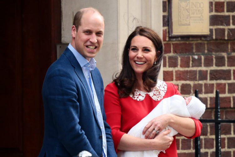 Princess Charlotte wears hand-me-down from Prince George