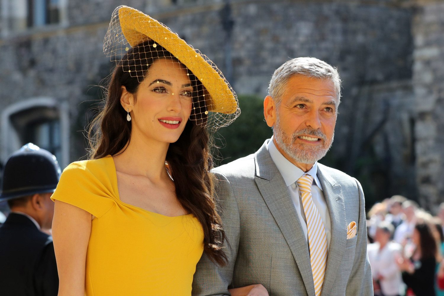 amal clooney royal wedding photo