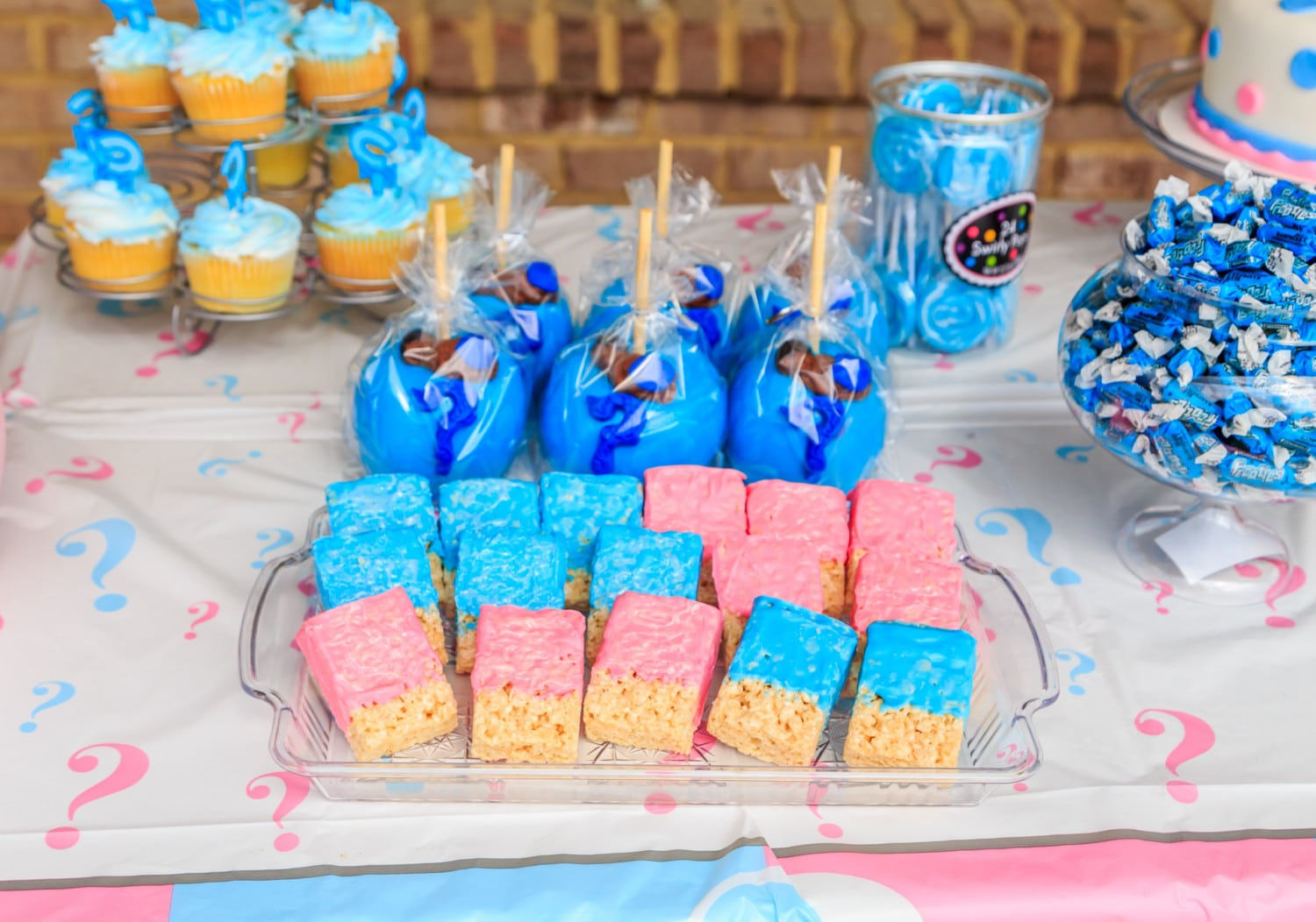 Pink Twinkle Twinkle Little Star Gender-Reveal Baby Shower ...