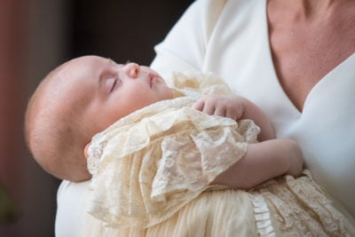 Christening Of Prince Louis Of Cambridge At St James's Palace