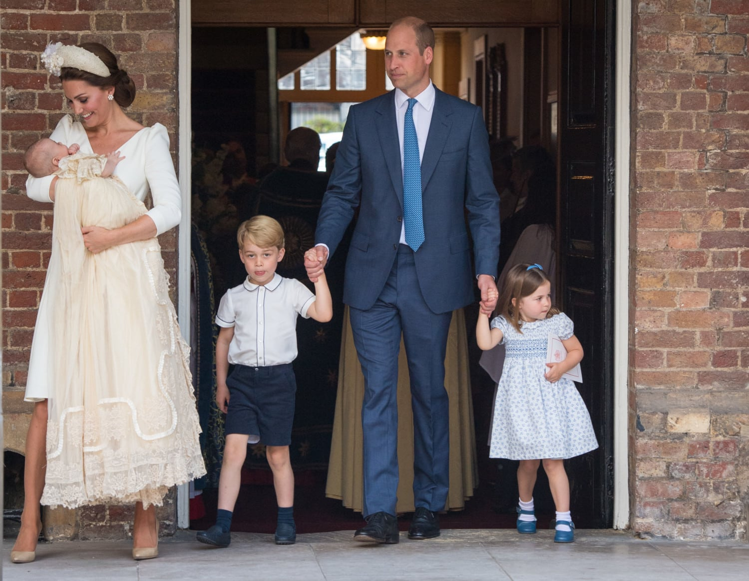 Prince Louis christening photo