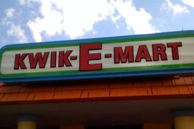 Simpsons Kwik-E-Mart