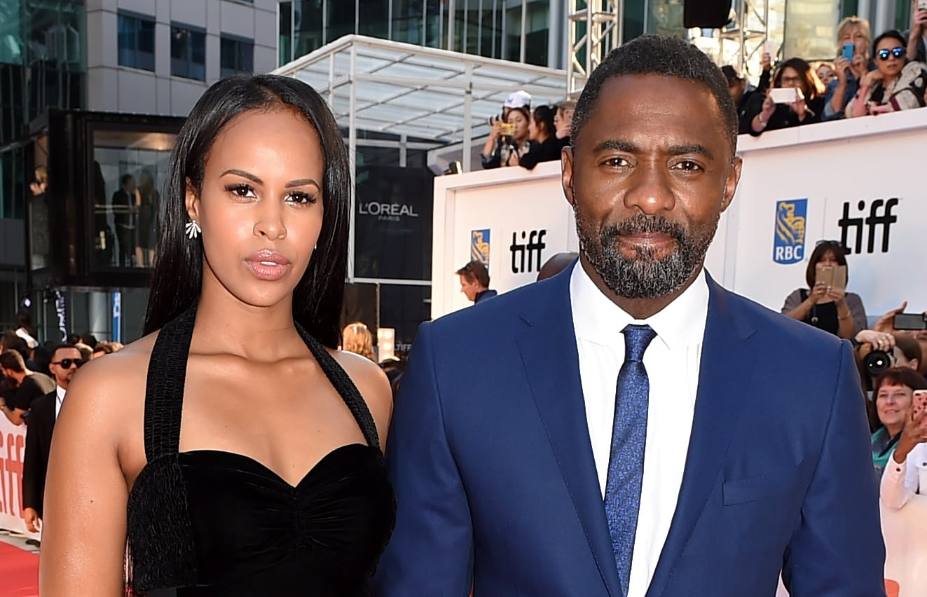 idris elba sabrina dhowre photo