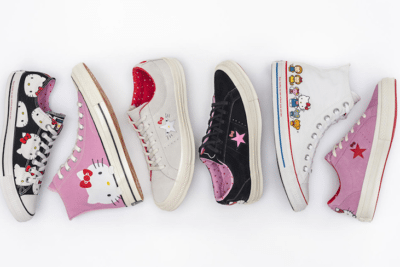 Hello Kitty Converse