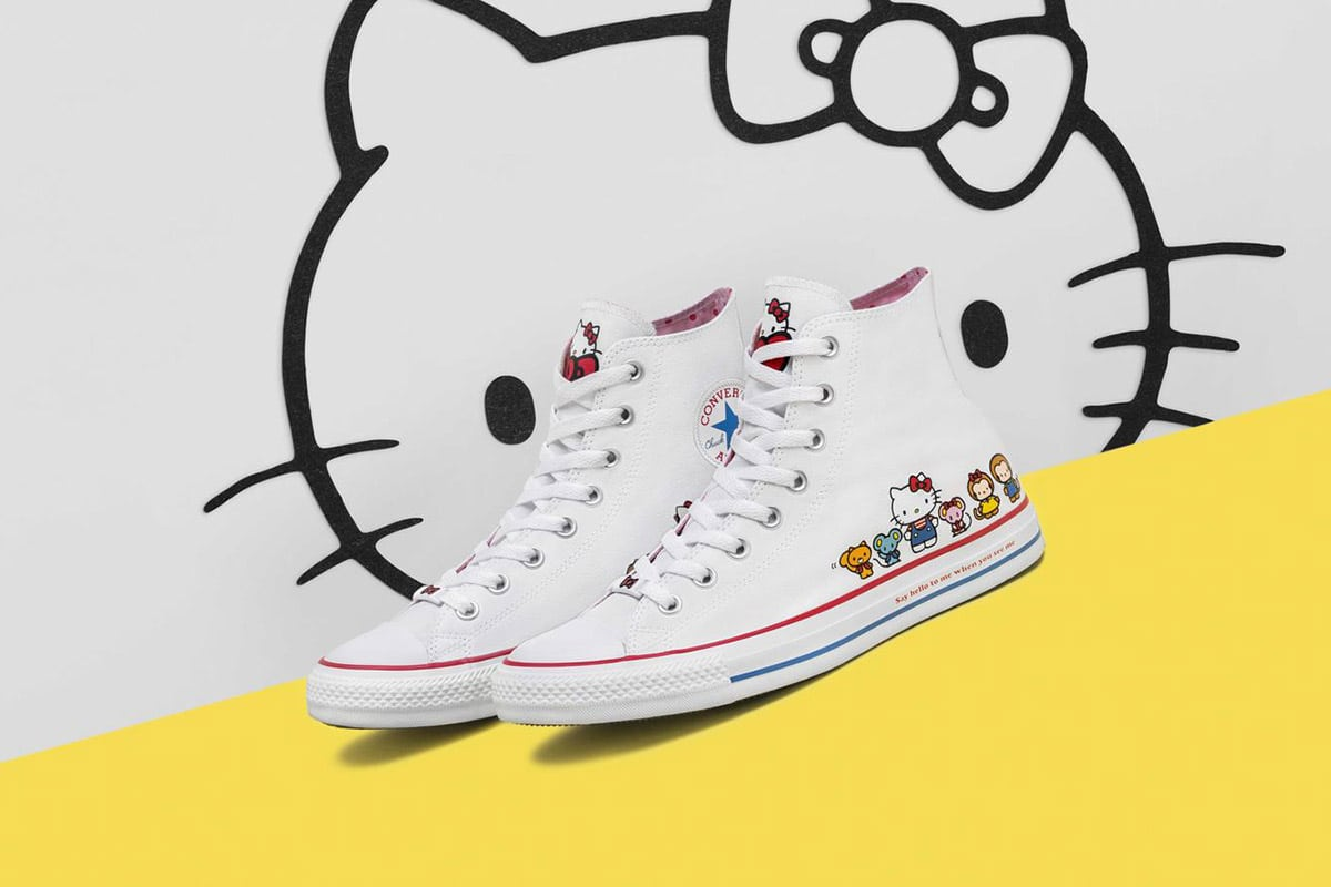 Converse Is Rolling Out Adorable Hello Kitty Sneakers    WRAL.com c5d5d4b0e