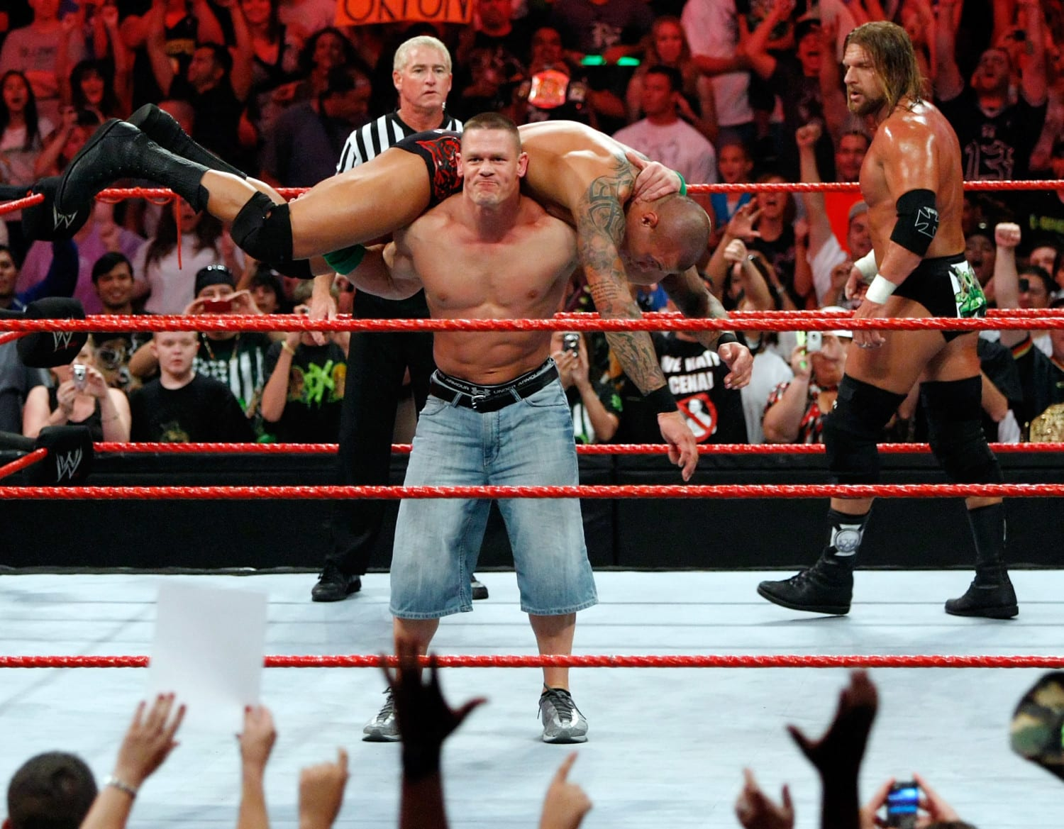 wwe raw photo