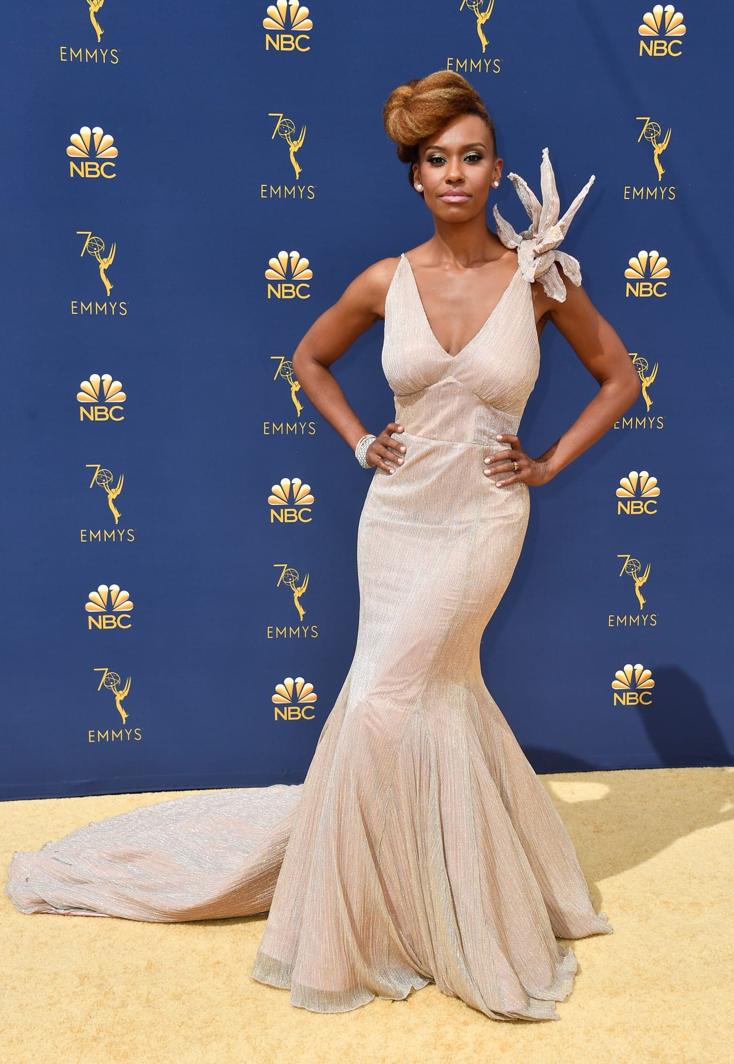 Ryan Michelle Bathe 2018 emmys photo