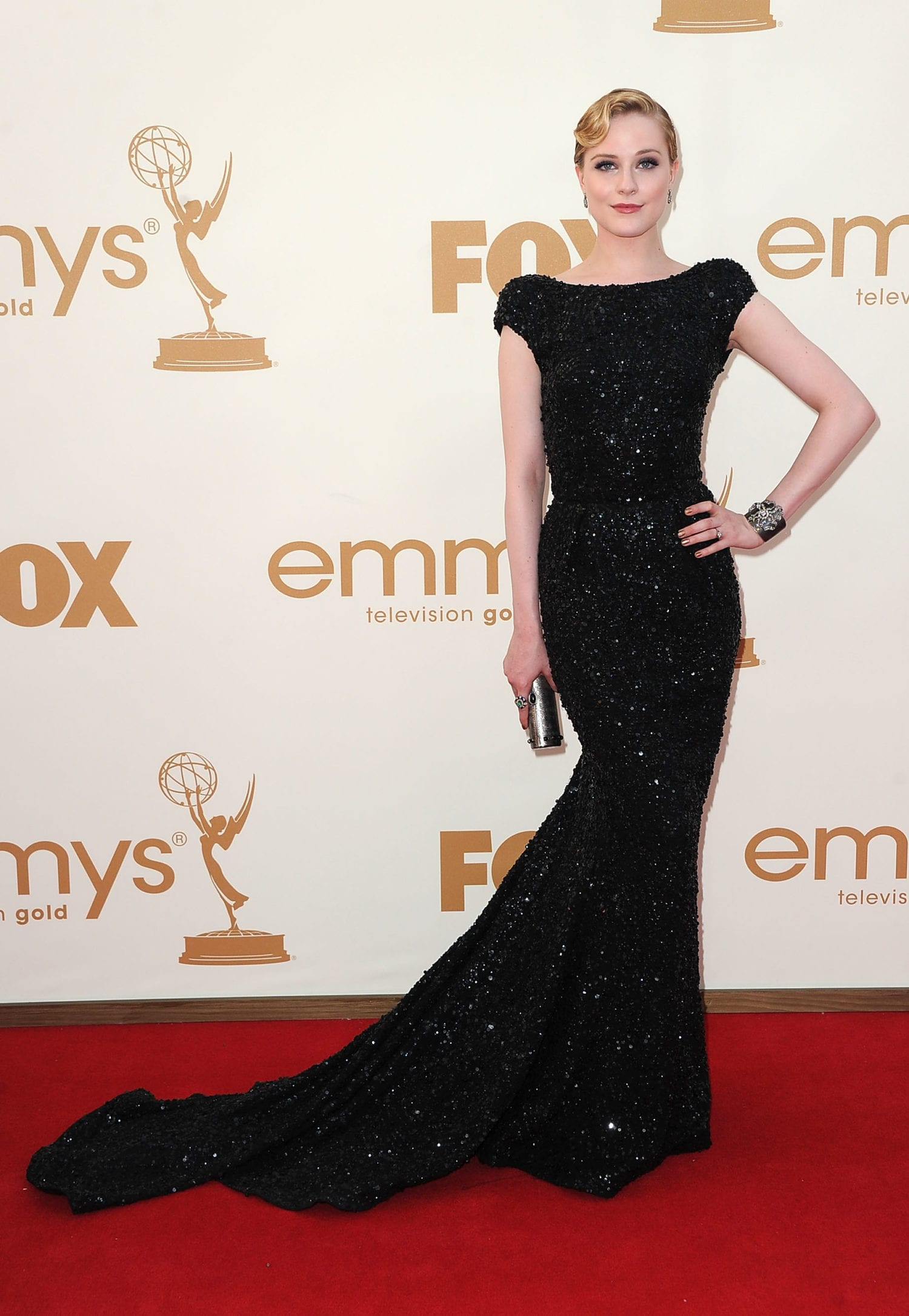 Evan Rachel Wood 2011 emmys photo