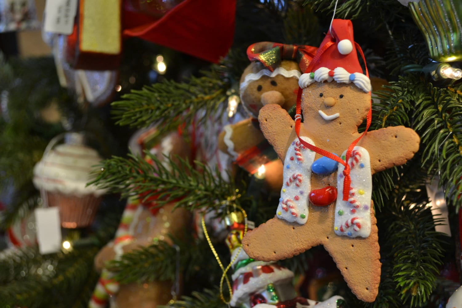 gingerbread man ornament photo