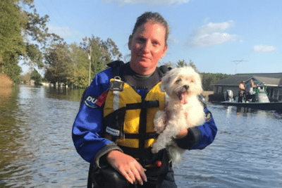humane society dog rescue hurricane florence