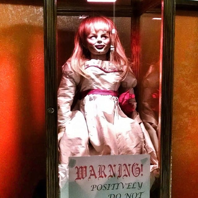 annabelle doll photo
