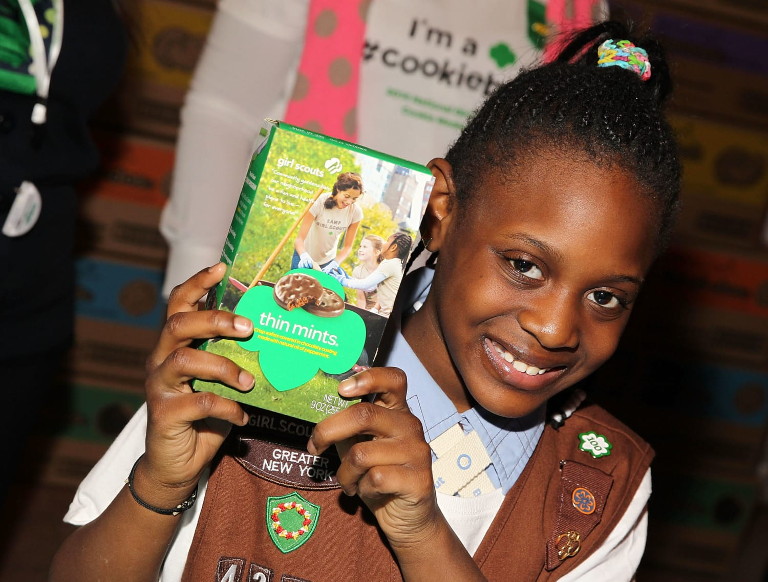 Girl Scout cookie photo