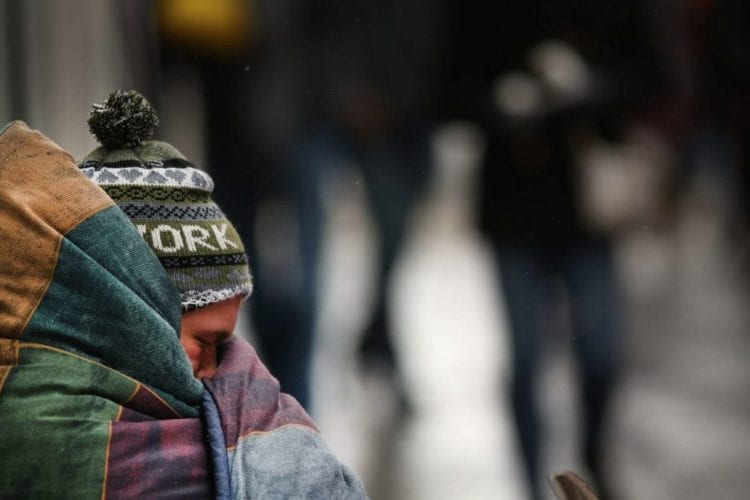 Temperatures In New York City Stay Below Freezing