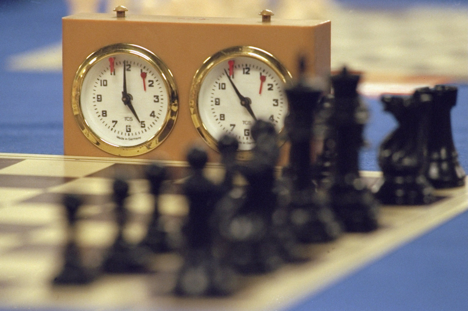 chess clock photo