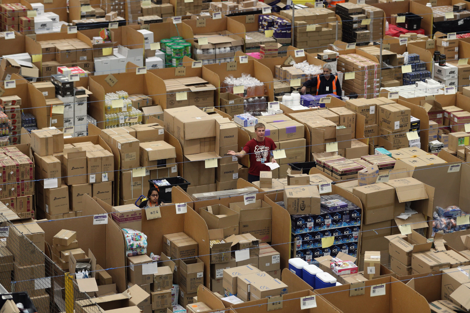 amazon packages photo