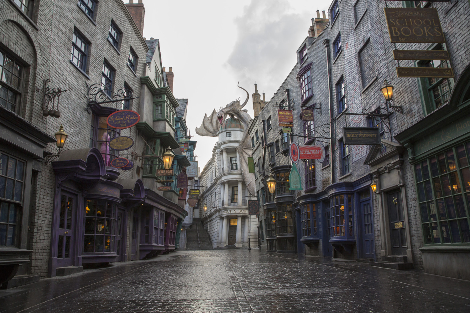 The Wizarding World Of Harry Potter Diagon Alley At Universal Orlando Resort - Day 2