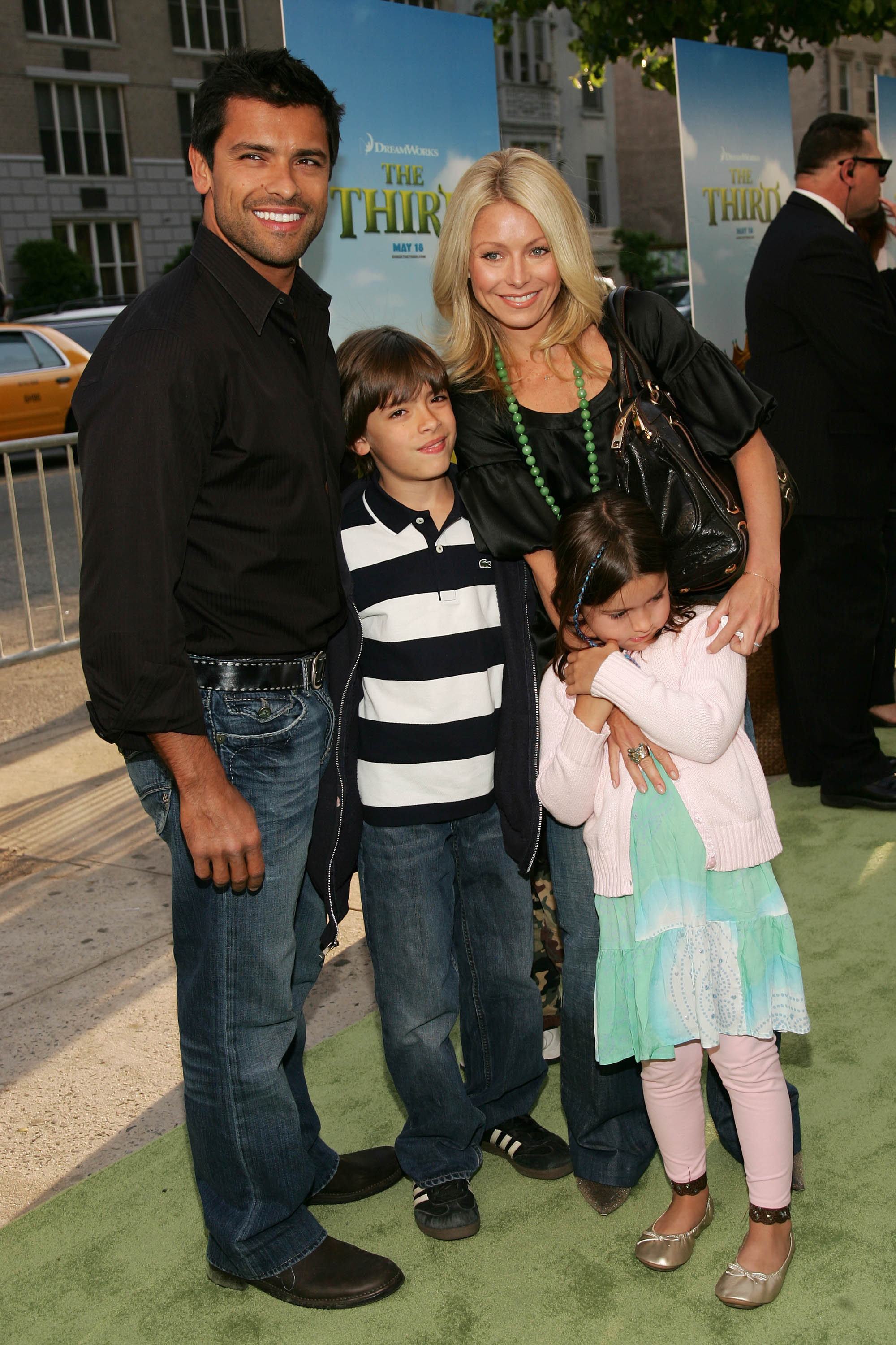 Kelly Ripa children photo