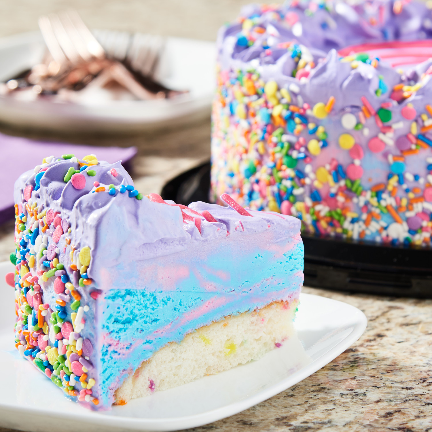 Super Walmart Is Now Selling A Unicorn Ice Cream Cake Simplemost Birthday Cards Printable Trancafe Filternl
