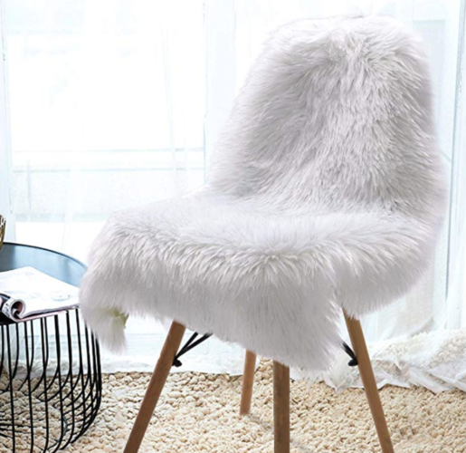 faux fur rug Prime Day deal