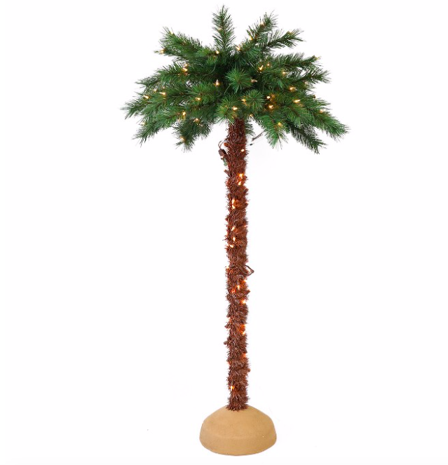 Where To Buy A Nice Artificial Christmas Tree: Buy Pre-Lit Artificial Palm Trees For Christmas
