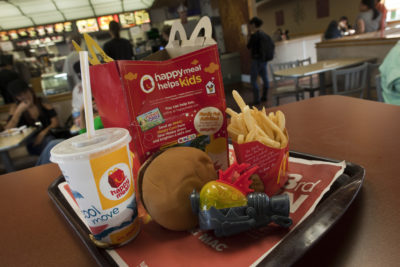 San Francisco Votes To Ban McDonalds Happy Meals