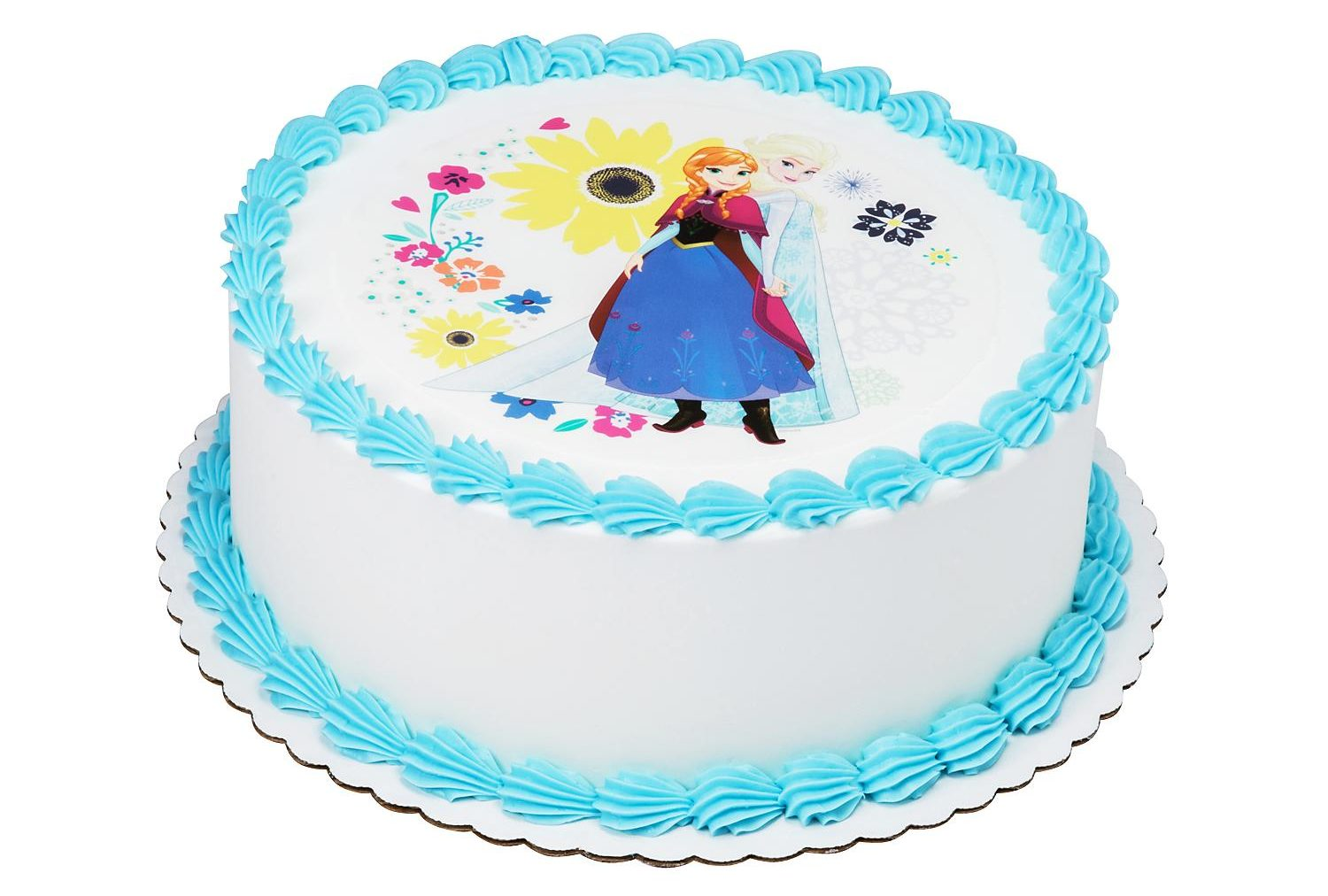 Cool Frozen 2 Cake At Sams Club Feeds 66 People Simplemost Personalised Birthday Cards Veneteletsinfo